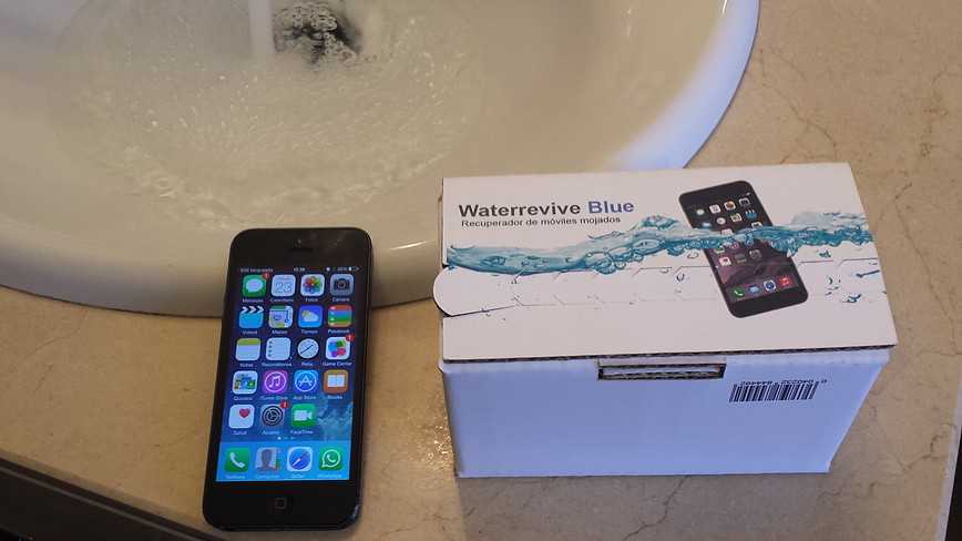 iPhone y waterrevive