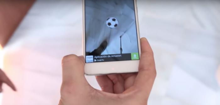Kick Ball, juego de fútbol en realidad aumentada para Android